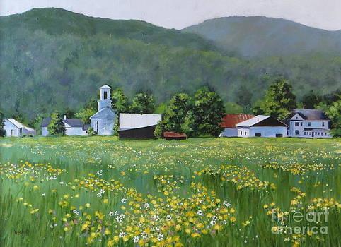 Yellow Daisies by Karol Wyckoff