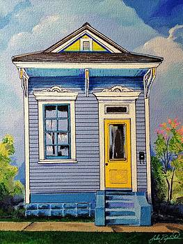 Yellow Door Shotgun  by John  Duplantis