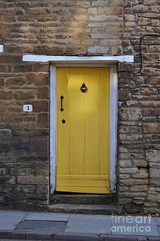 Yellow Door by Stephanie Guinn