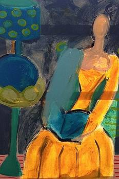 Yellow Dress by Ashley Schutte