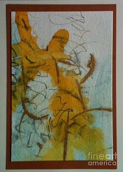 Yellow fantasy by Gloria Cooper