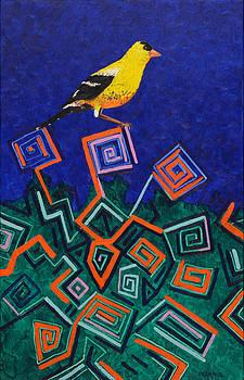 Yellow Finch by Anguspaul Reynolds