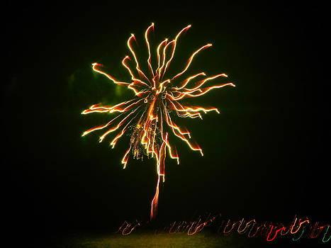 Jennifer Lamanca Kaufman - Yellow Fireworks