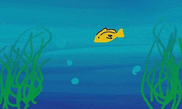 Yellow Fish by  Alice Butera