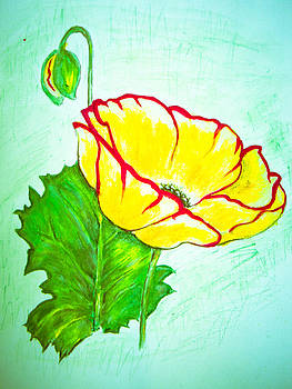 Suzie Hanscom - Yellow Flower