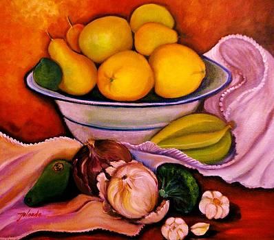 Yellow Fruits by Yolanda Rodriguez