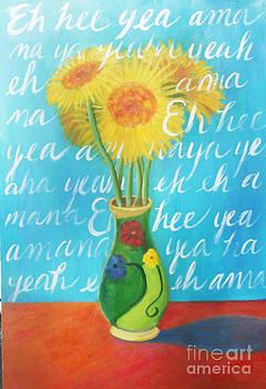 Yellow Gerbers by Jane Simonson
