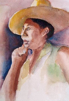 Yellow Hat by Morris Eaddy
