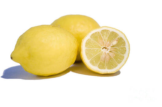 Yellow - lemons by Giuseppe Ridino