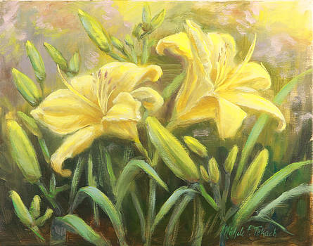 Yellow Lilies by Michele Tokach