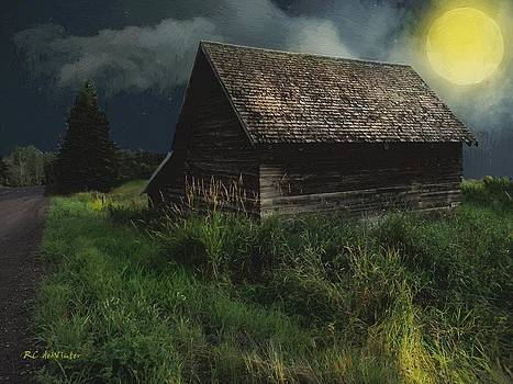Yellow Moon on the Rise by RC DeWinter
