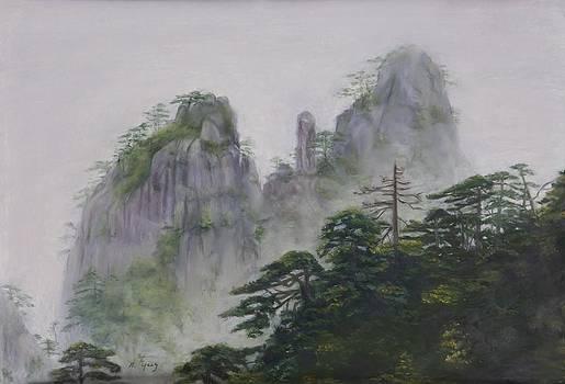 Yellow Mountain by Nancy Yang