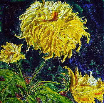 Yellow Mum by Paris Wyatt Llanso