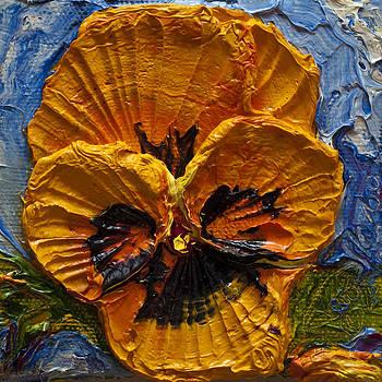 Yellow Pansy by Paris Wyatt Llanso