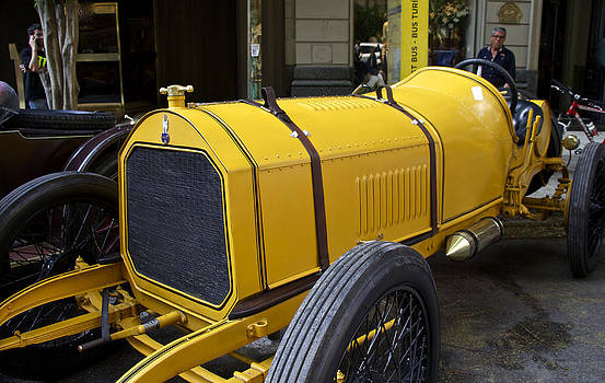 Venetia Featherstone-Witty - Yellow Roadster