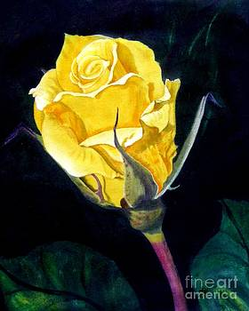 Yellow Rose The Original by Sylvie Heasman