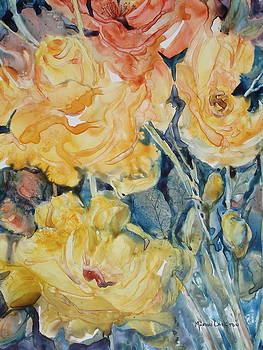 Yellow Roses  by Marion Langton