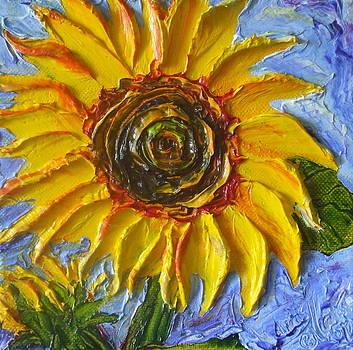 Yellow Sunflower by Paris Wyatt Llanso