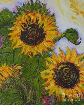 Yellow Sunflowers by Paris Wyatt Llanso