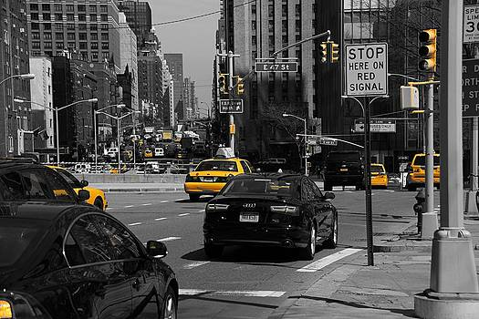 Yellow Taxi by Thomas Fouch