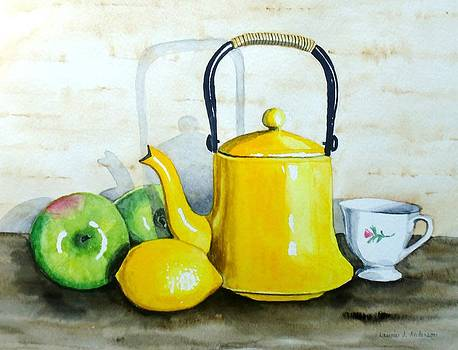 Yellow Teapot by Laurie Anderson