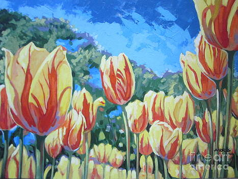 Yellow Tulips by Andrei Attila Mezei