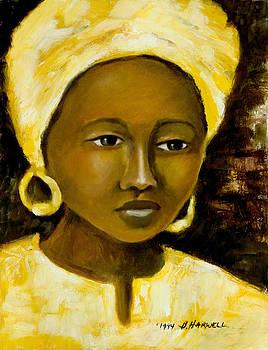 Yellow Turban by Bettye  Harwell