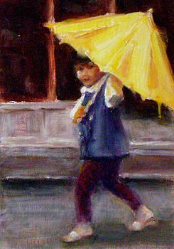 Chisho Maas - Yellow Umbrella