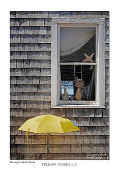 Yellow Umbrella by George Salter
