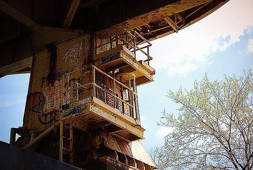 Yellow Underbelly Bridge by M Hess