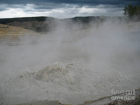 Yellowstone Errupt by Visual Renegade Art