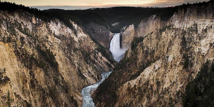 YellowStone Falls by Chad Davis