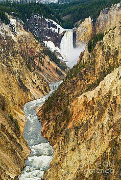 Jamie Pham - Yellowstone Falls from Artist Point