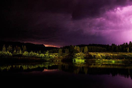 Yellowstone Lightning by Dean Chytraus