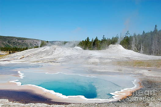 Yellowstone National Park Heart Spring by Susan Montgomery