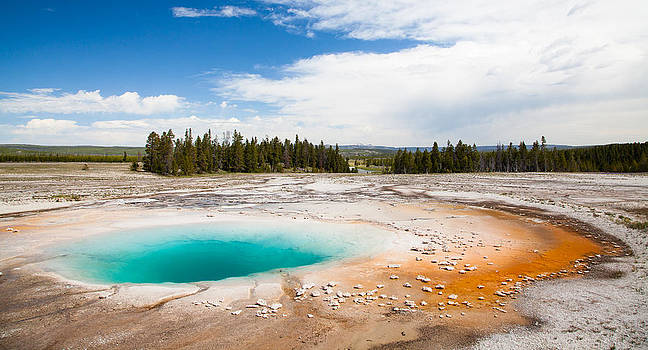 Adam Pender - Yellowstone Prismatic Spring