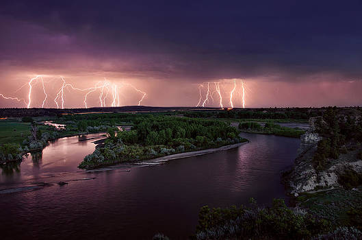 Leland Howard - Yellowstone River Lightning