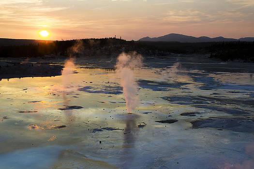 Yellowstone Sunset by Kyle Goodwin