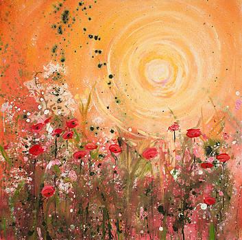 Yelow Sunrise by Patty Baker