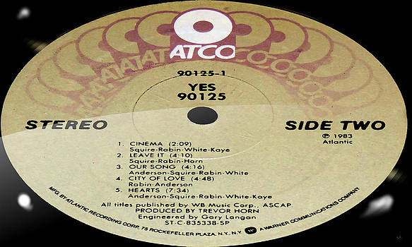 Marcello Cicchini - Yes 90125