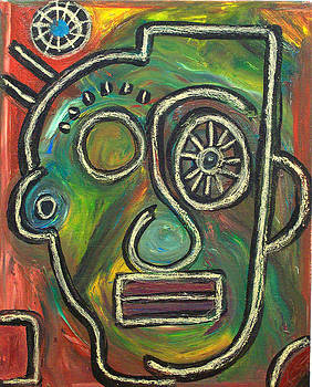 Yes Eye Wheel by Kamoni Khem