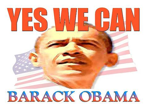 Art America Gallery Peter Potter - Yes We Can - Barack Obama