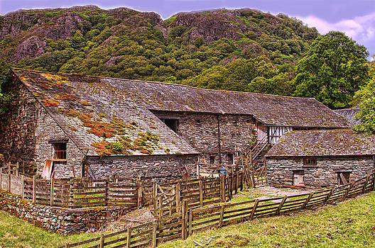 Yew Tree Barn Cumbria by Graham Hawcroft pixsellpix
