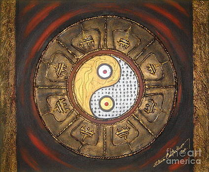 Yin Yang Balance by Elena  Constantinescu
