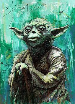 Yoda by Tom Deacon