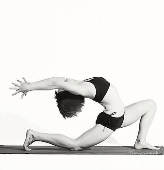 Yoga Fem I by Angelique Olin