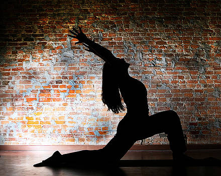Yoga Silhouette 2 by Shannon Beck-Coatney