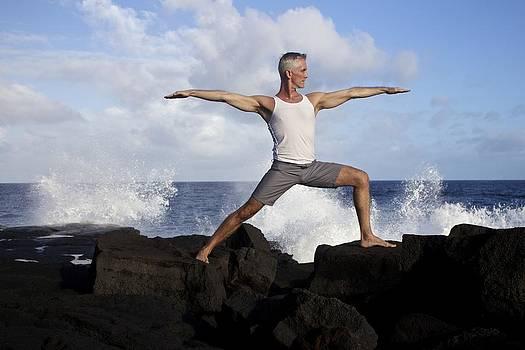 Venetia Featherstone-Witty - Yoga Warrior Pose