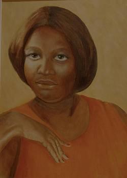 Yolanda in Orange by Joan Glinert