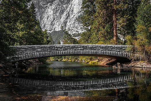Wes and Dotty Weber - Yosemite Bridge Reflection